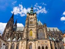 St Vitus大教堂布拉格捷克 免版税库存照片