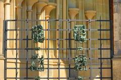 St. Vitus大教堂,布拉格城堡 图库摄影