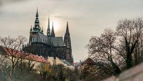 St. Vitus大教堂 库存图片