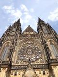 St Vitus Cathedral à Prague Photographie stock
