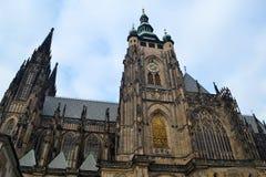 St Vitus Cathedral à Praha Images libres de droits