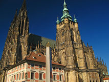 St. Vitus Cathedral 04 Royalty Free Stock Photography
