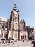 St Vitus Cathedral imagen de archivo libre de regalías