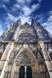 St. Vitus Cathedral. Prague, Czech republic stock photo