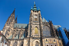 St. Vitus' Cathedral Royalty Free Stock Photos