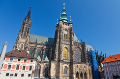St. Vitus' Cathedral Stock Photos