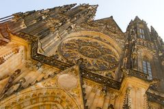 St. Vitus Cathedral Stock Photography