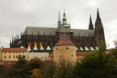 St. Vitus Cathedral Royalty Free Stock Images