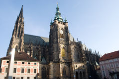 St.Vitus cathedral Royalty Free Stock Photo