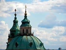 St. Vitus Cathedral. Details of St. Vitus Cathedral in Praga Royalty Free Stock Photo