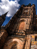 St. Vitus Cathedral. Details of St. Vitus Cathedral in Praga Royalty Free Stock Image