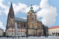 Free St. Vitus Cathedral Royalty Free Stock Photo - 36381045