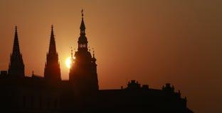 St. Vitus Cathedral Lizenzfreie Stockbilder
