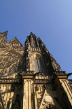 St. Vitus Cathedral. In Prague, Czech Republic royalty free stock image