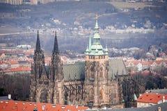 St. Vitus Cathedral. Arkivbilder