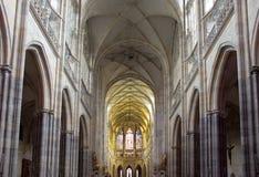 St Vitus Cathedral Immagine Stock Libera da Diritti