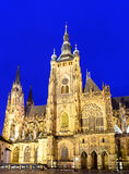 St Vitus Cathedral Immagine Stock