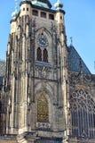 St Vitus Cathedral Immagini Stock