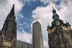 St Vitus Cathedral Imagem de Stock Royalty Free