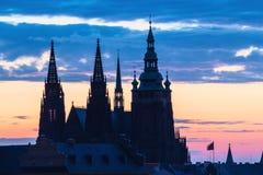 St Vitus Cathedral stockfotos