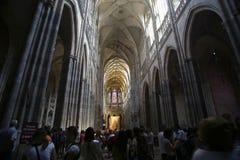 St Vitus Cathedral Imágenes de archivo libres de regalías