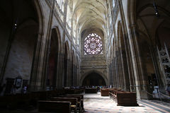 St Vitus Cathedral Fotografía de archivo libre de regalías