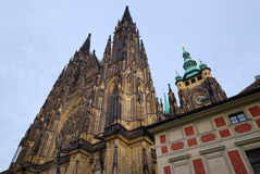 St Vitus Cathedral Lizenzfreies Stockfoto