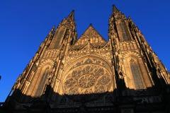St Vitus Cathedral Fotografía de archivo