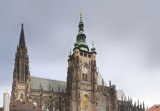 St Vitus Cathedral Royalty-vrije Stock Afbeeldingen
