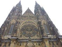 St Vitus Cathedral Photos libres de droits