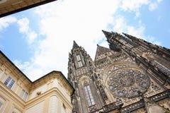 St Vitus Cathedral Lizenzfreies Stockbild