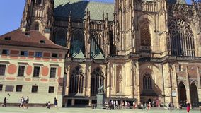 St Vitus Cathedral stock video footage