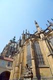 St Vitus Cathedral, bâtiment gothique chrétien photos libres de droits