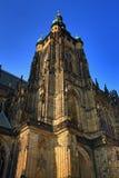 St Vitus Cathedral, castello di Praga, repubblica Ceca del tempio Fotografie Stock