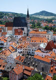 St. Vitus cathedral in Cesky Krumlov Royalty Free Stock Photos