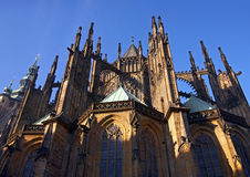St.Vitus cathedral. St.Vitus church in Prague.Czech republic Stock Photos
