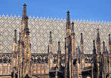 St.Vitus cathedral. St.Vitus church in Prague.Czech republic Stock Images