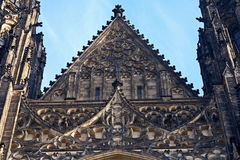 St.Vitus cathedral. St.Vitus church in Prague.Czech republic Royalty Free Stock Image