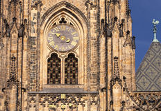 St.Vitus cathedral. St.Vitus church in Prague.Czech republic. Horizontal position Royalty Free Stock Image