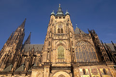 St.Vitus cathedral. St.Vitus church in Prague.Czech republic. Horizontal position Stock Image