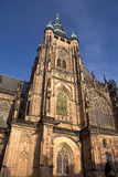 St.Vitus cathedral. St.Vitus church in Prague.Czech republic. Vertical position royalty free stock photos