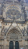 St. Vitus Cathedral. Czech Republic stock image