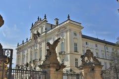 St. Vitus Cathedral, das Prag-Schloss Stockfoto