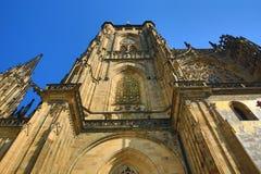 St. Vitus Cathedral, das Prag-Schloss Lizenzfreies Stockfoto