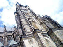 St Vitus Cathedral de Prague Photos stock
