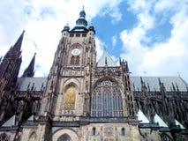 St Vitus Cathedral de Praha Photographie stock