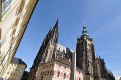 St Vitus Cathedral di Praga Immagini Stock Libere da Diritti