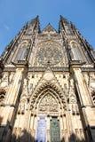 St Vitus Cathedral di Praga Fotografie Stock Libere da Diritti