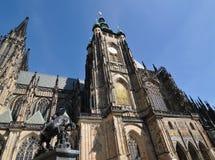St Vitus Cathedral e san Fotografia Stock Libera da Diritti