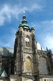 St Vitus Cathedral en Praga imagen de archivo